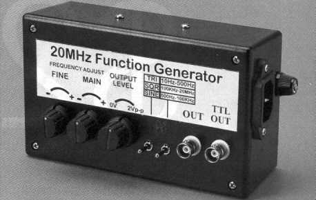 20MHz High Speed Function Generator