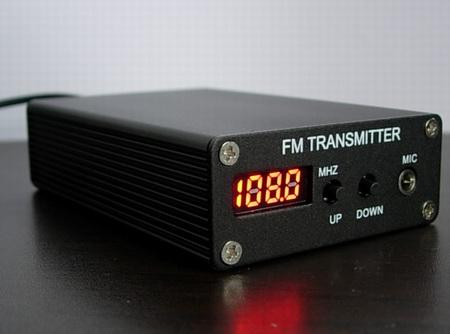 5W PLL Stereo FM Transmitter