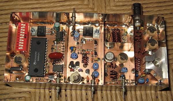 4W PLL FM Transmitter