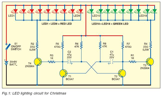 circuit zone com electronic projects electronic schematics diy led lighting for christmas