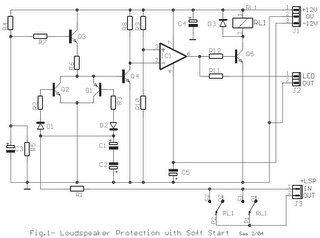 Loudspeaker Protection with Soft Start