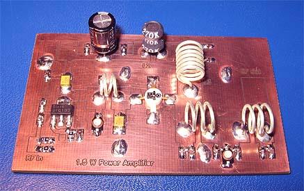 1.5W VHF Amplifier