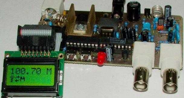 5W PLL FM Transmitter