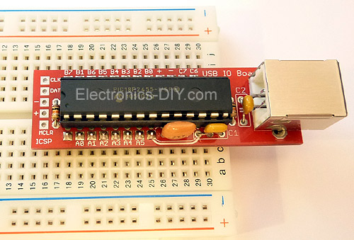 Circuit zone electronic projects electronic schematics diy usb io board pic18f2455 pic18f2550 solutioingenieria Images