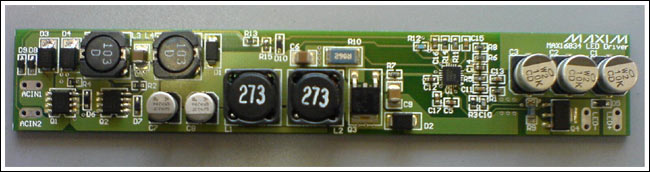 MAX16834 High Power LED Driver