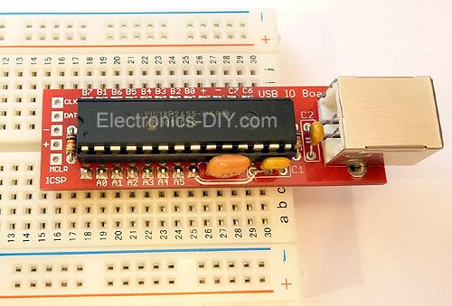 Electronic Project Board : Diy usb interface virtual fretboard
