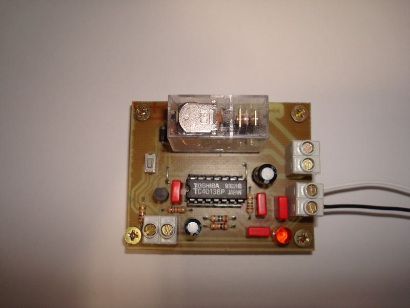Digital ON-OFF Tactile Button Relay Switch