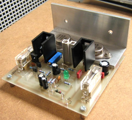 Four Channel Power Amplifier