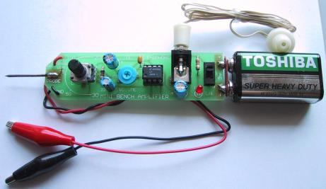 LM386 Audio Probe Amplifier