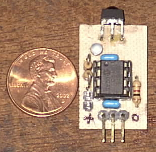 Simple IR Remote Receiver with Decoder