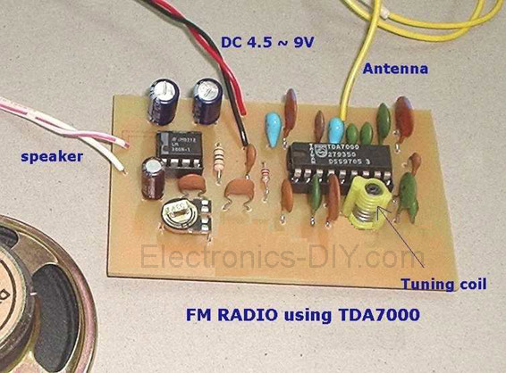 FM Radio with TDA7000