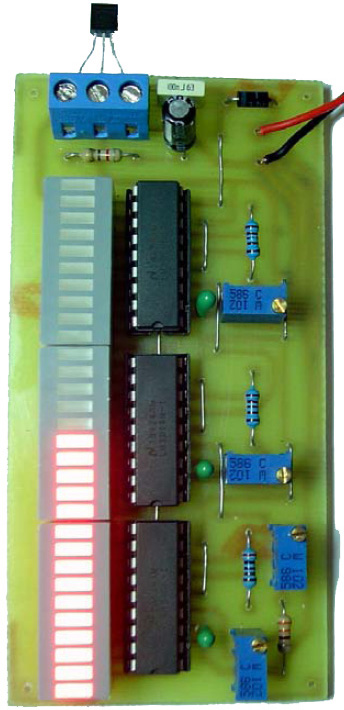 Electronic Thermometer using LM35