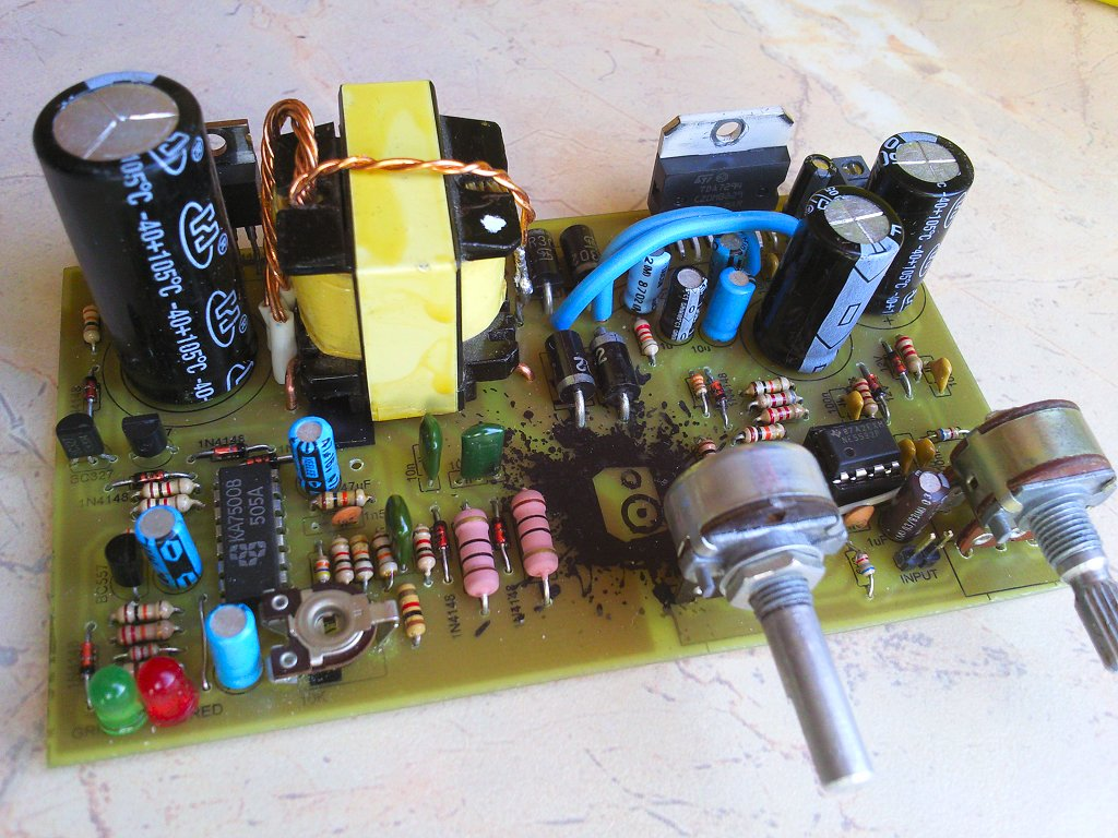 Electronic Projects Schematics Diy Tda2822 Amplifier Circuit 100w Car Subwoofer