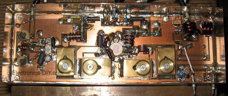 80W RF Amplifier 88-108 MHz