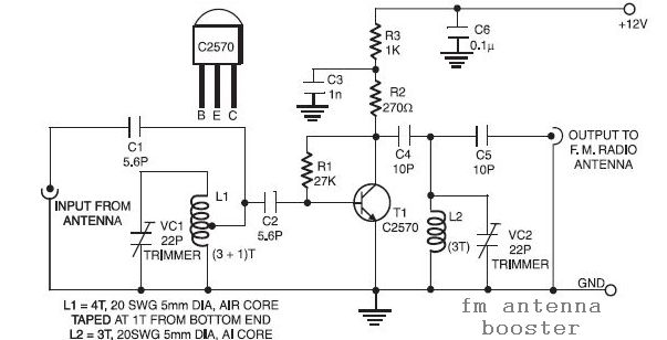Capacitor Between Emitter And Collector in addition Am Radio Lm555 besides 2n6084 144mhz Fm Power  lifier together with Radiosetanvrc47 moreover . on fm radio antenna schematic
