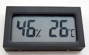 Humidity Temperature Meter (Hygrometer)