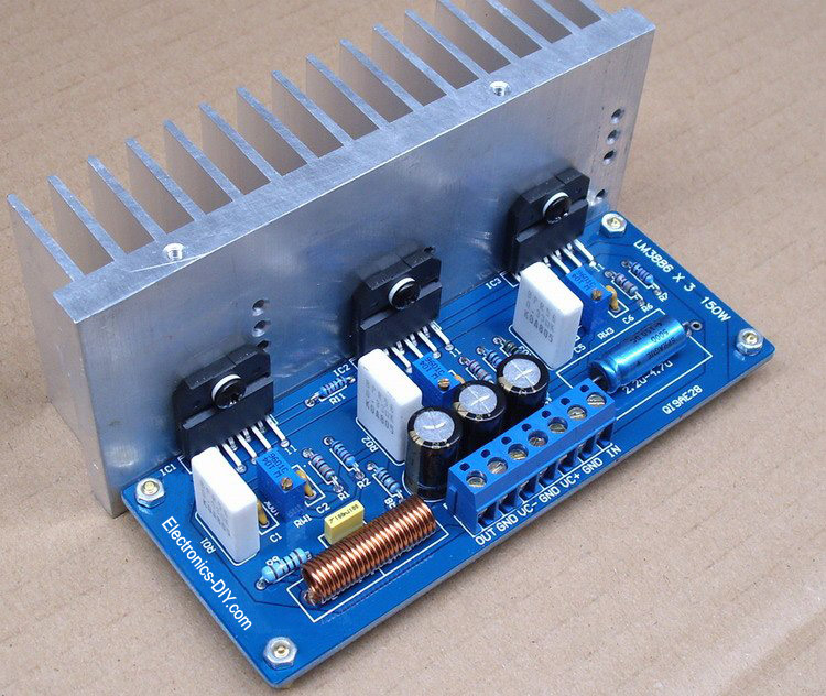 lm3886 power amplifier with 150w audio output power three lm3886