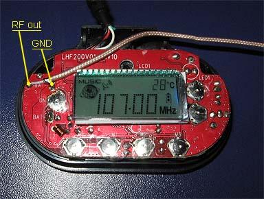 1W iPOD FM Transmitter