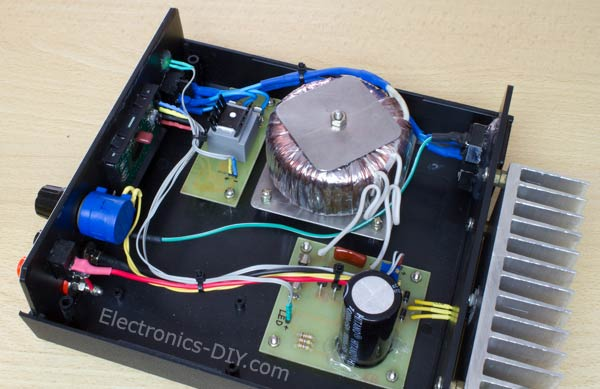 on bench power supply circuit