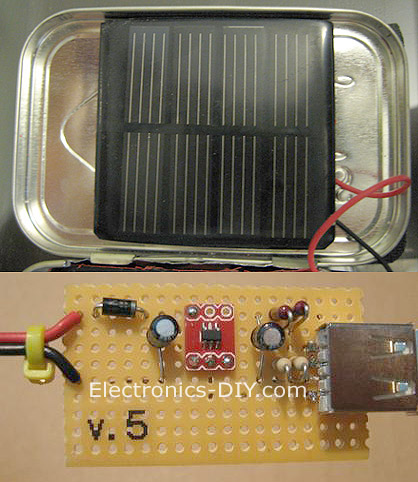 Solar Charger For Usb Devices on Iphone Charger Circuit Diagram
