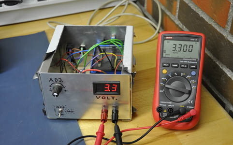 Adjustable Bench Power Supply