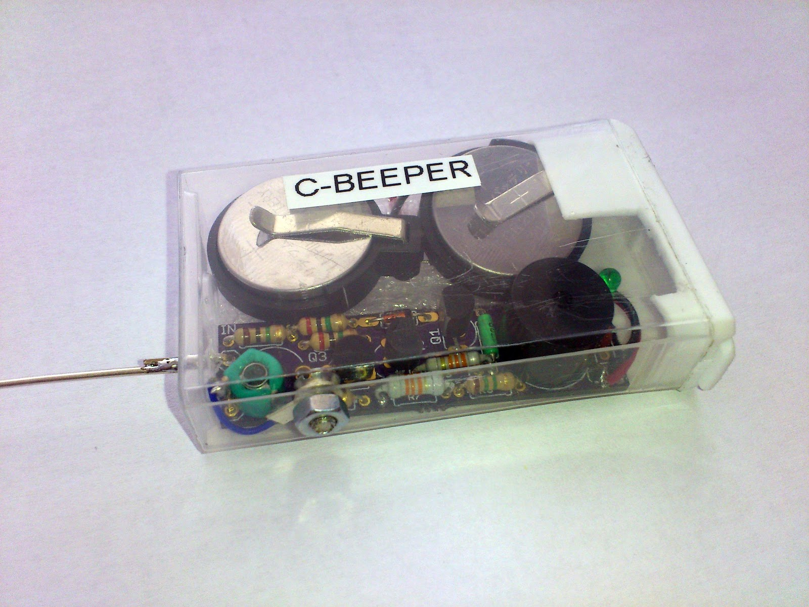 Circuit zone electronic projects electronic schematics diy curious c beeper curious c beeper is a fun to build solutioingenieria