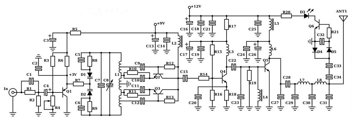 433 MHz UHF SPY BUG VOX ACTIVATED AUDIO SURVEILLANCE TRANSMITTER HIGH RANGE