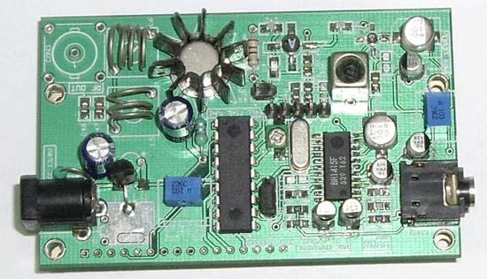BH1415F FM Stereo PLL Transmitter