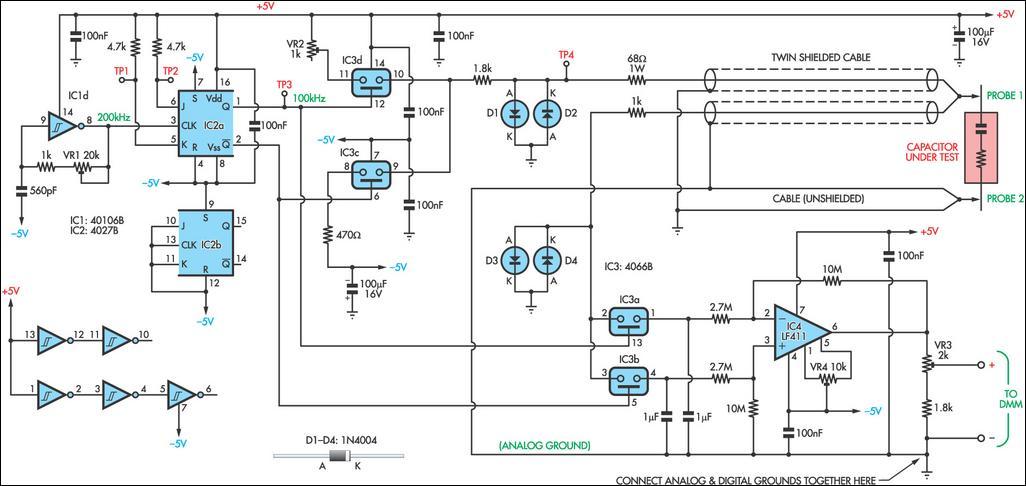 Create Hfe Tester Circuit Diagram - Machine Repair Manual on